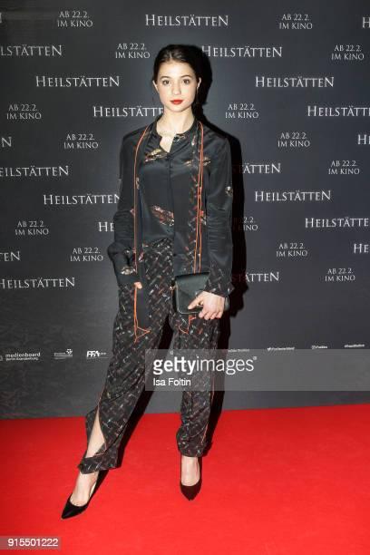 German actress LisaMarie Koroll attends the 'Heilstaetten' premiere at Delphi on February 7 2018 in Berlin Germany
