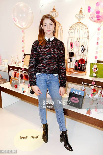 German actress LisaMarie Koroll attends the Iphoria store opening on December 6 2016 in Berlin Germany