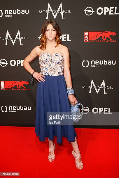 German actress Lisa-Marie Koroll attends the New Faces Award Film 2016 at ewerk on May 26, 2016 in Berlin, Germany.