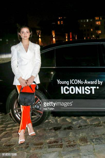 German actress LisaMarie Koroll attends the Young ICONs Award in cooperation with ICONIST at BRLO Brwhouse on February 14 2018 in Berlin Germany