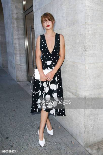 German actress LisaMarie Koroll during the Bunte New Faces Night at Grace Hotel Zoo on July 2 2018 in Berlin Germany
