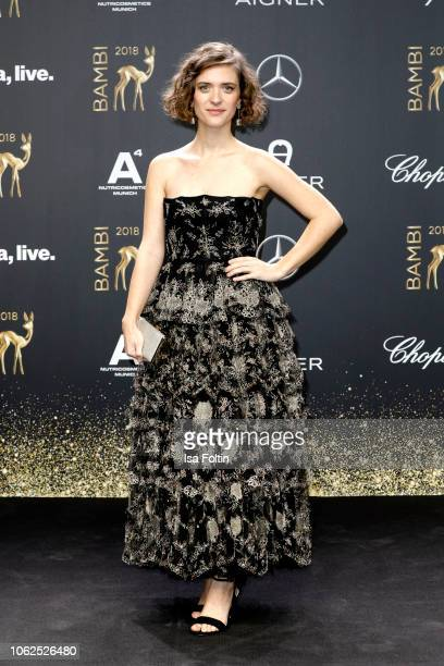 German actress Liv Lisa Fries attends the 70th Bambi Awards at Stage Theater on November 16 2018 in Berlin Germany