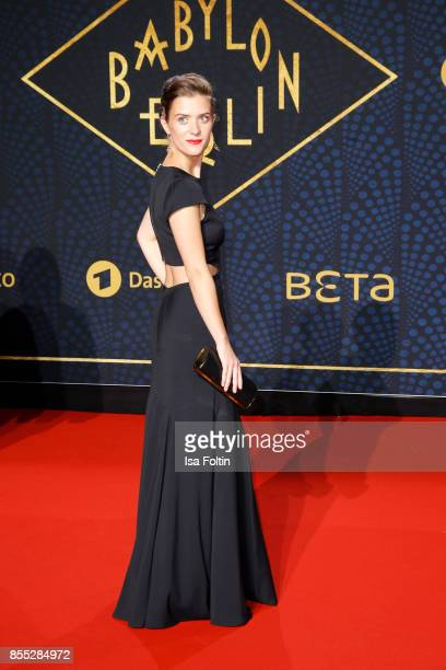 German actress Liv Lisa Fries attends the 'Babylon Berlin' Premiere at Berlin Ensemble on September 28 2017 in Berlin Germany