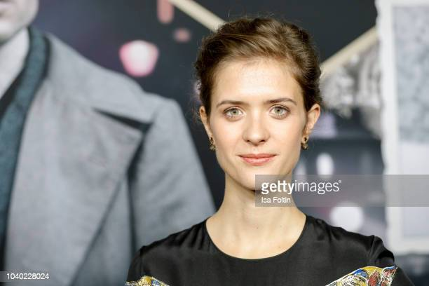 German actress Liv Lisa Fries attends the premiere of the film '1929 Das Jahr Babylon' at Delphi Filmpalast on September 25 2018 in Berlin Germany