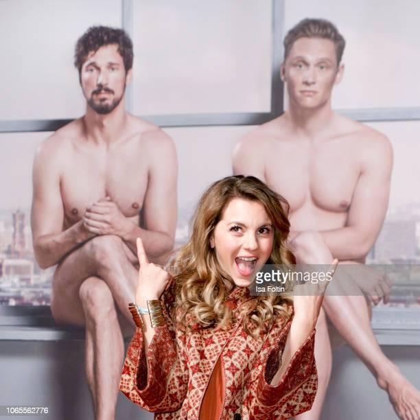 German actress Luise Baehr attends the German premiere of the movie '100 Dinge' at CineStar on November 26 2018 in Berlin Germany
