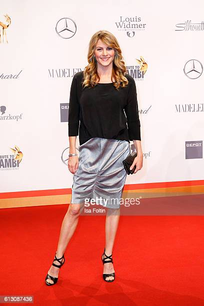 German actress Luise Baehr attends the Tribute To Bambi at Station on October 6 2016 in Berlin Germany