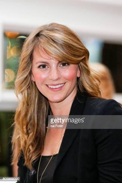 German actress Luise Baehr during the host of Annabelle Mandengs Ladies Dinner at Hotel Zoo on July 2 2017 in Berlin Germany