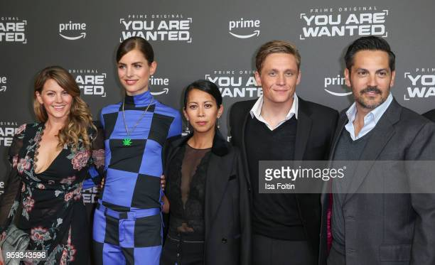 German actress Luise Baehr Dutch actress Hannah Hoekstra German actress MinhKhai PhanThi German actor producer and director Matthias Schweighoefer...