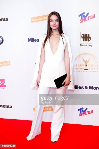 German actress Luise Befort attends the Jupiter Award at Cafe Moskau on March 29 2017 in Berlin Germany