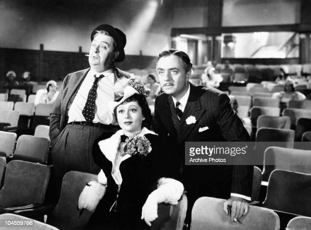 German actress Luise Rainer and her co star American actor William Powell from a scene the film 'The Great Ziegfeld' circa 1936