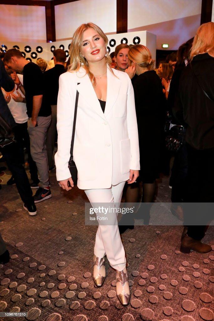 German Actress Luna Schweiger Attends The Medienboard