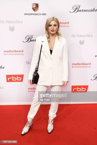 German actress Luna Schweiger attends the Medienboard BerlinBrandenburg Reception on the occasion of the 69th Berlinale International Film Festival...