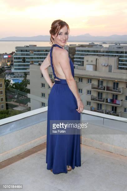 German actress Maike von Bremen attends the Remus Lifestyle Night on August 2 2018 in Palma de Mallorca Spain