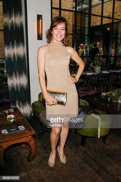 German actress Maike von Bremen during the host of Annabelle Mandengs Ladies Dinner at Hotel Zoo on July 2 2017 in Berlin Germany