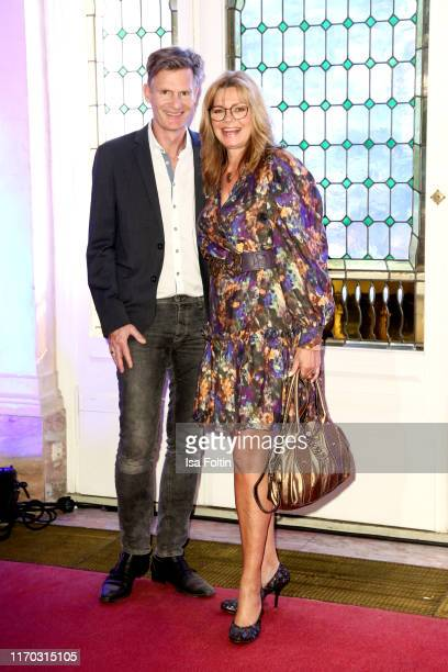 German actress Maren Gilzer and her husband Harry Kuhlmann at the premiere of Mamma Mia Das Musical at Stage Theater des Westens on September 22 2019...