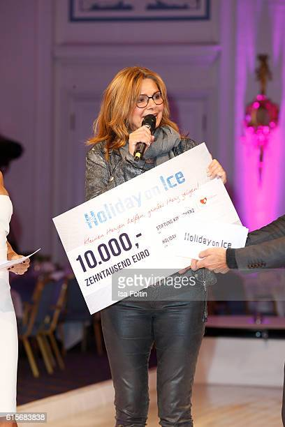 German actress Maren Gilzer attends the 'Holiday on Ice' gala at Hotel Atlantic on October 19, 2016 in Hamburg, Germany.