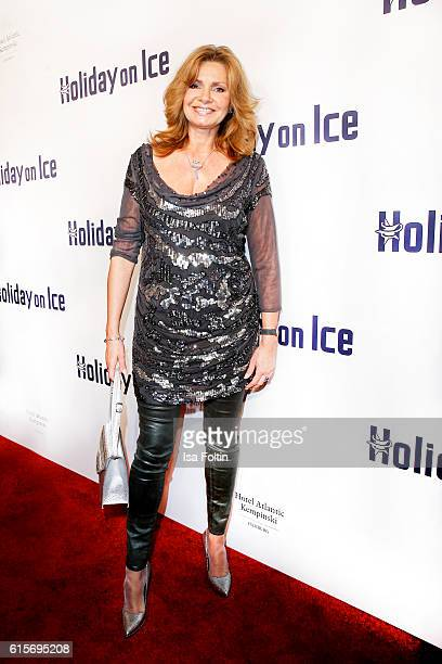 German actress Maren Gilzer attends the 'Holiday on Ice' gala at Hotel Atlantic on October 19 2016 in Hamburg Germany