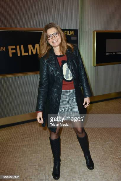 German actress Maren Gilzer attends the 'Mein Film' Premiere at Astor Film Lounge on March 14 2017 in Berlin Germany