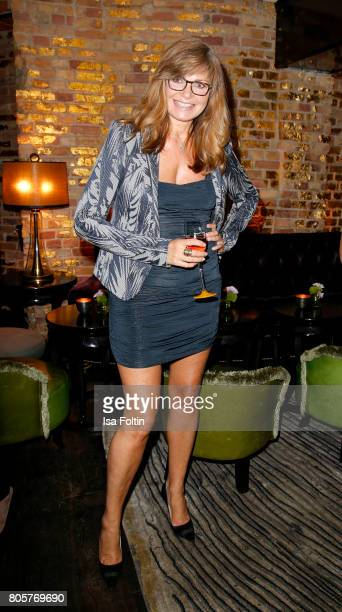 German actress Maren Gilzer during the host of Annabelle Mandengs Ladies Dinner at Hotel Zoo on July 2 2017 in Berlin Germany
