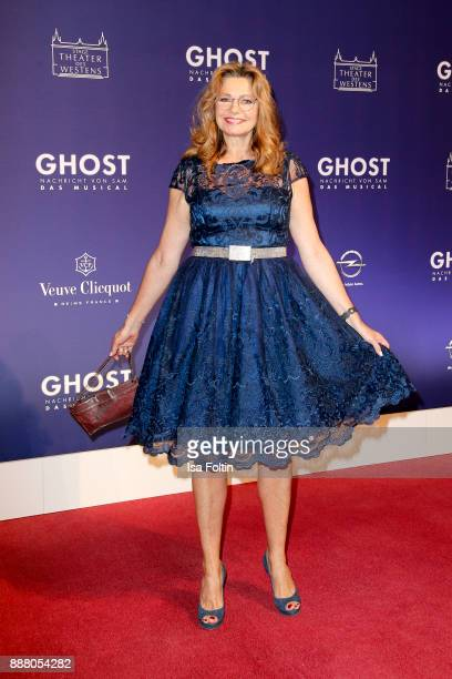 German actress Maren Gilzer during the premiere of 'Ghost Das Musical' at Stage Theater on December 7 2017 in Berlin Germany