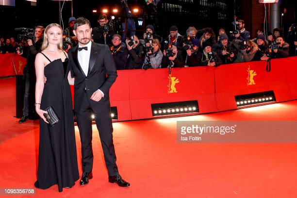 German actress Maria Dragus and German actor Clemens Schick attend the opening ceremony and The Kindness Of Strangers premiere during the 69th...
