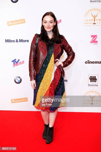 German actress Maria Ehrich attends the Jupiter Award at Cafe Moskau on March 29 2017 in Berlin Germany