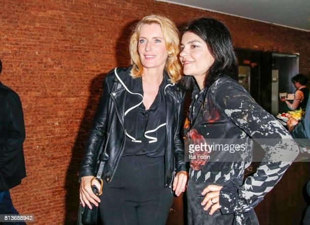 German actress Maria Furtwaengler and German actress Jasmin Tabatabai during the summer party 2017 of the German Producers Alliance on July 12 2017...
