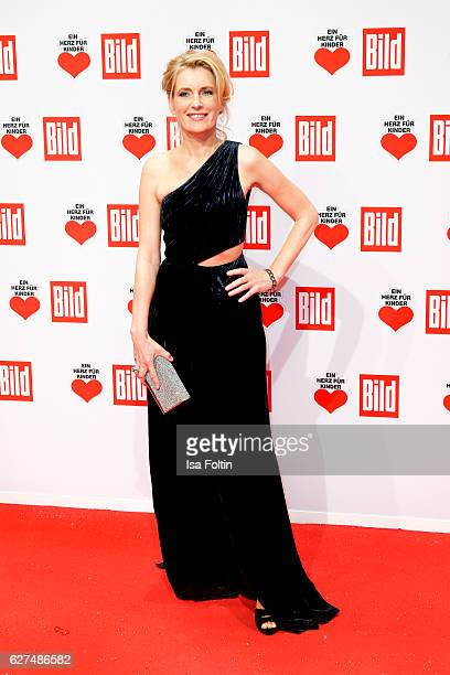 German actress Maria Furtwaengler attends the Ein Herz Fuer Kinder gala on December 3 2016 in Berlin Germany