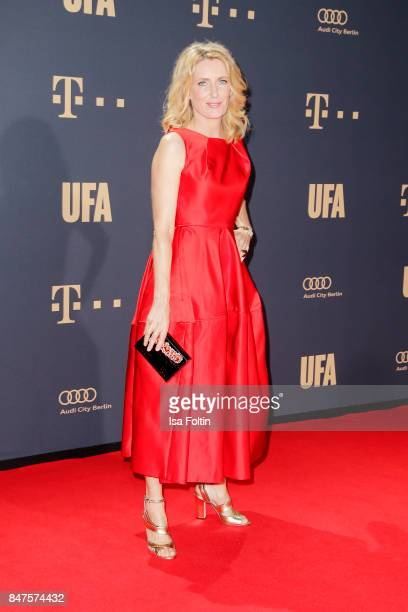 German actress Maria Furtwaengler attends the UFA 100th anniversary celebration at Palais am Funkturm on September 15 2017 in Berlin Germany