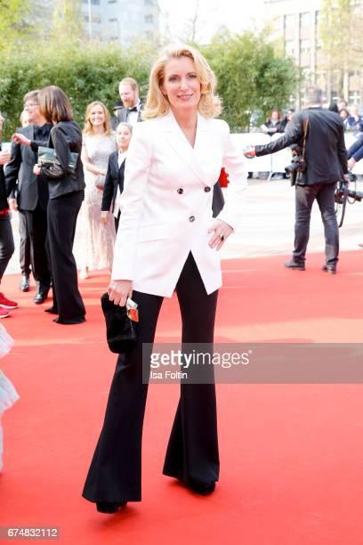 German actress Maria Furtwaengler during the Lola German Film Award red carpet arrivals at Messe Berlin on April 28 2017 in Berlin Germany
