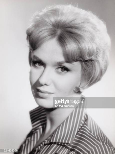 German actress Maria Sebaldt, Germany, late 1950s. .