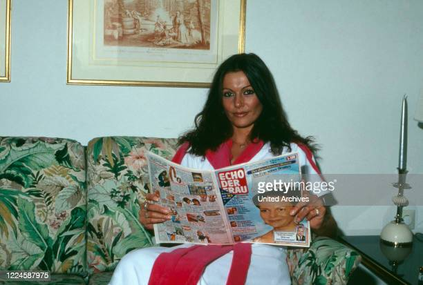 German actress Marie Louise Gassen Germany 1970s