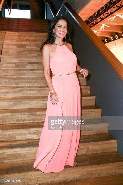German actress Mariella Ahrens attends the Dreamball 2018 at WECC Westhafen Event Convention Center on September 19 2018 in Berlin Germany