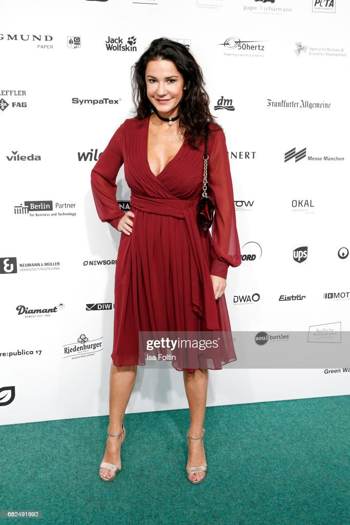 German actress Mariella Ahrens attends the GreenTec Awards at ewerk on May 12, 2017 in Berlin, Germany.