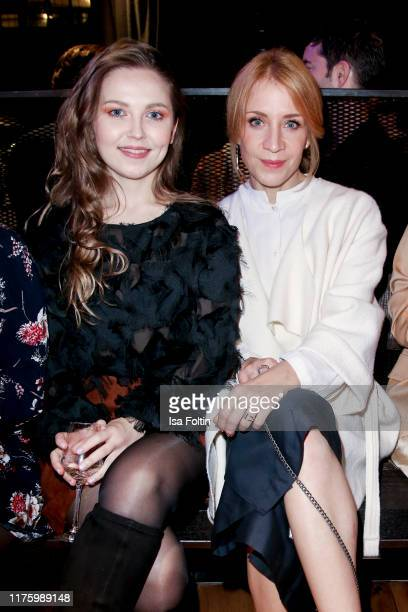 German actress Marija Mauer and German actress Annika Ernst attend the Daimler event Be a Mover at BRLO on October 14 2019 in Berlin Germany