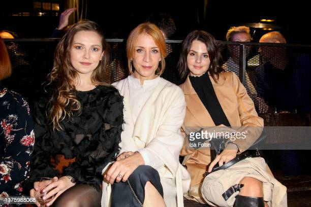 """German actress Marija Mauer, German actress Annika Ernst and German actress Ruby O. Fee attend the Daimler event """"Be a Mover"""" at BRLO on October 14,..."""