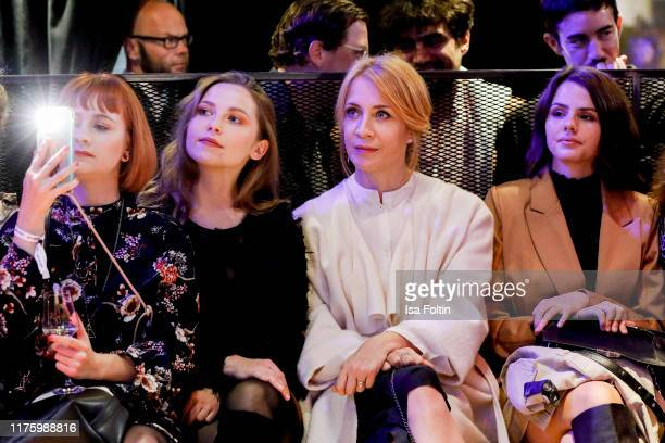 German actress Marija Mauer German actress Annika Ernst and German actress Ruby O Fee attend the Daimler event Be a Mover at BRLO on October 14 2019...