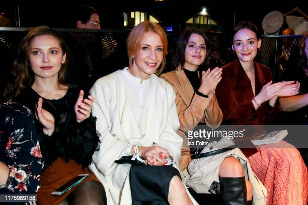 German actress Marija Mauer German actress Annika Ernst German actress Ruby O Fee and German actress Maria Ehrich attend the Daimler event Be a Mover...
