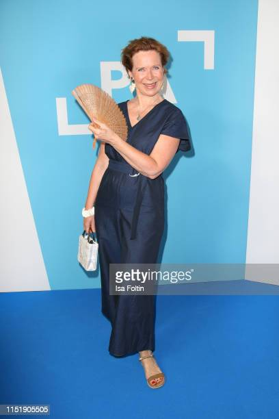 German actress Marion Kracht attends the summer party of the German Producers Alliance on June 25, 2019 in Berlin, Germany.