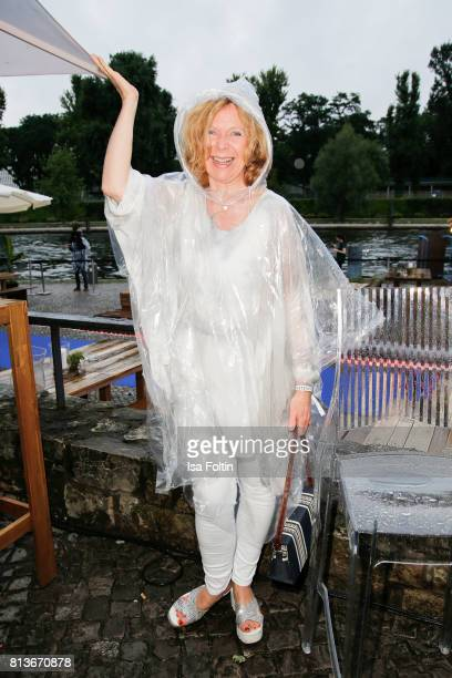 German actress Marion Kracht during the summer party 2017 of the German Producers Alliance on July 12, 2017 in Berlin, Germany.