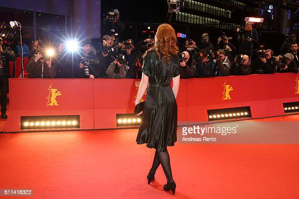 German actress Marleen Lohse attends the closing ceremony of the 66th Berlinale International Film Festival on February 20, 2016 in Berlin, Germany.