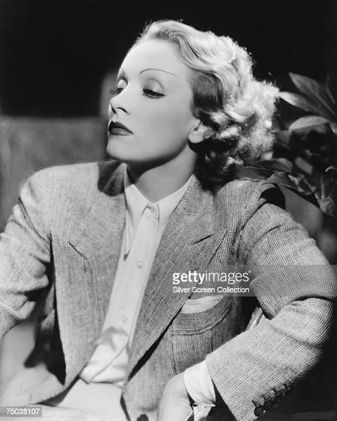 German actress Marlene Dietrich circa 1935