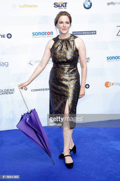 German actress Martina Gedeck attends the summer party 2017 of the German Producers Alliance on July 12 2017 in Berlin Germany