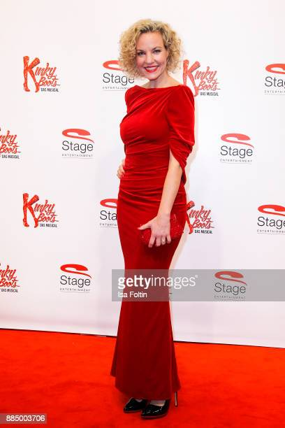 German actress Melanie Wiegmann attends the 'Kinky Boots' Musical Premiere at Stage Operettenhaus on December 3 2017 in Hamburg Germany