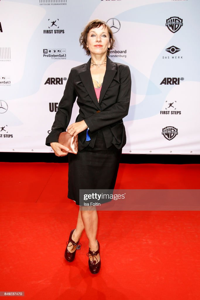 German actress Meret Becker attends the First Steps Awards 2017 at Stage Theater on September 18, 2017 in Berlin, Germany.