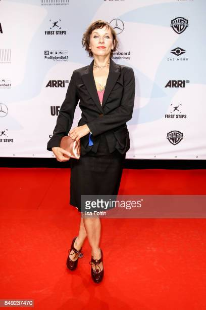 German actress Meret Becker attends the First Steps Awards 2017 at Stage Theater on September 18 2017 in Berlin Germany