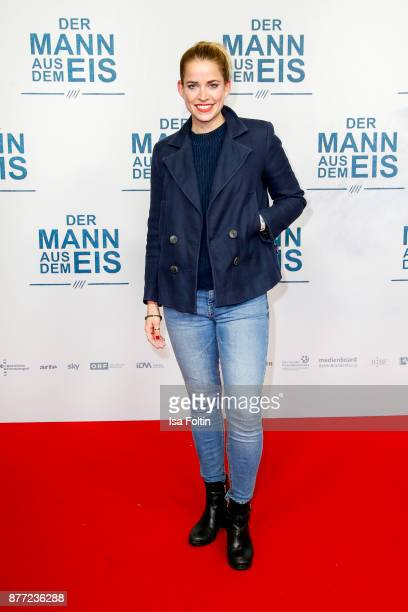 German actress Merle Collet attends the premiere of 'Der Mann aus dem Eis' at Zoo Palast on November 21 2017 in Berlin Germany