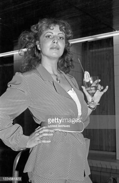 German actress Michaela May, Germany, 1970s.