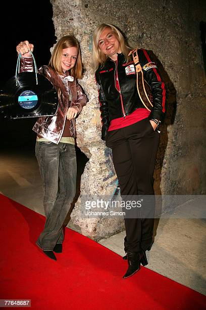 German actress Michaela Merten and her daughter Julia Franck arrive at the BMG After Show Party of the MTV Europe Music Awards on November 1 2007 in...