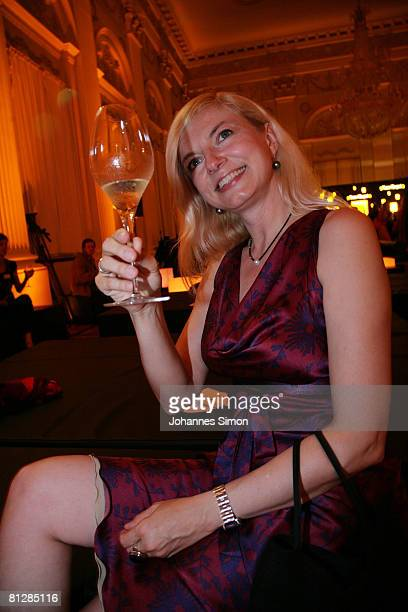German actress Michaela Merten attends the Prix Veuve Clicquot for Entrepreneur of the Year 2008 awards ceremony at Munich Royal Residence May 29...